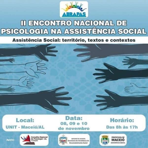 2º Encontro Nacional de Psicologia na Assistência Social