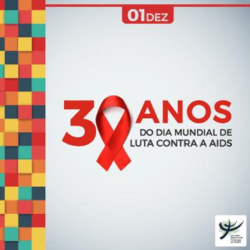 Dia Mundial da Luta contra a Aids completa 30 anos com redução nos novos casos