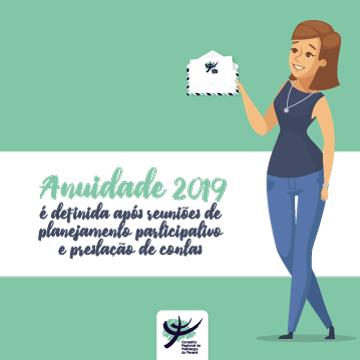 Anuidade 2019 é definida após reuniões de planejamento participativo e prestação de contas