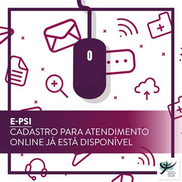 E-Psi: confira como fazer o cadastro para atendimento online