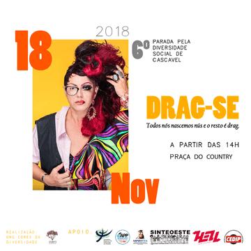 Parada pela Diversidade Social de Cascavel acontece em 18 de novembro