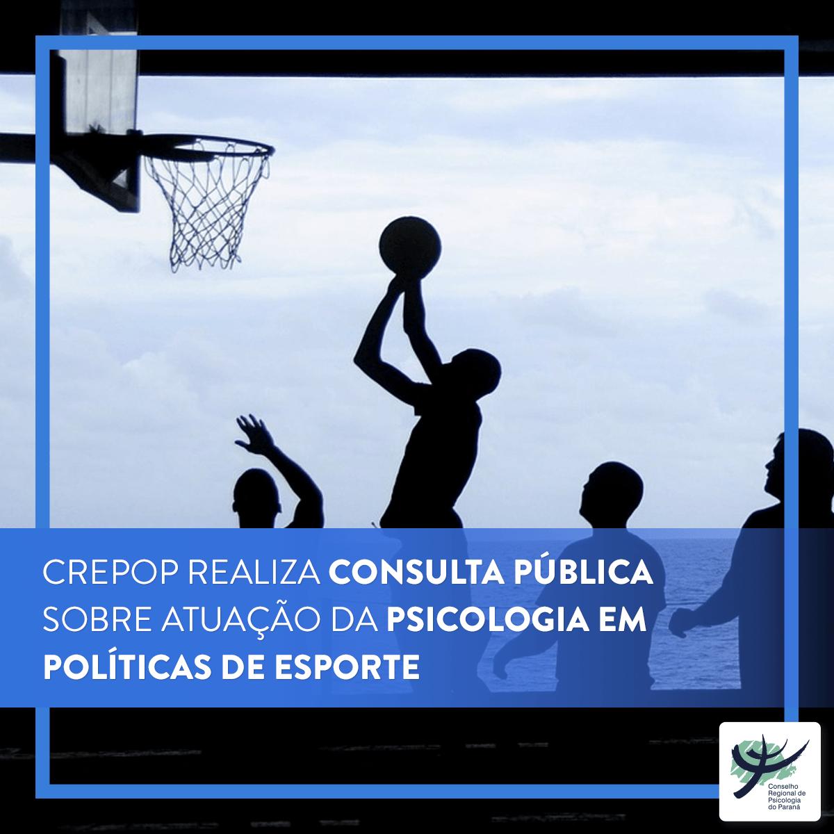 Crepop realiza consulta pública sobre atuação da Psicologia em políticas de esporte