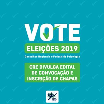 CRE divulga edital de convocação para Eleições e inscrição de chapas