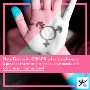 Nota trans aceita congresso internacional