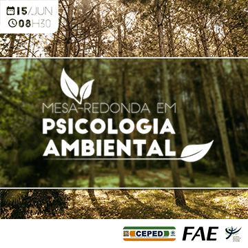 Mesa-redonda em Psicologia Ambiental