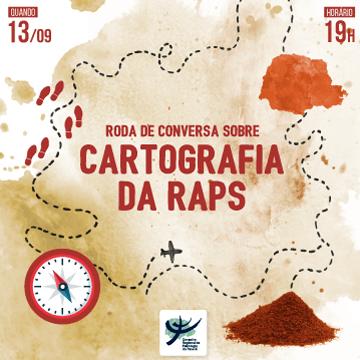 """Roda de Conversa sobre a pesquisa """"Cartografia da RAPS"""""""