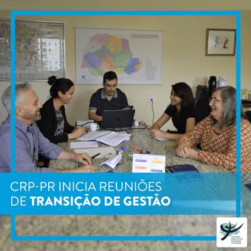 CRP-PR inicia reuniões de transição de gestão