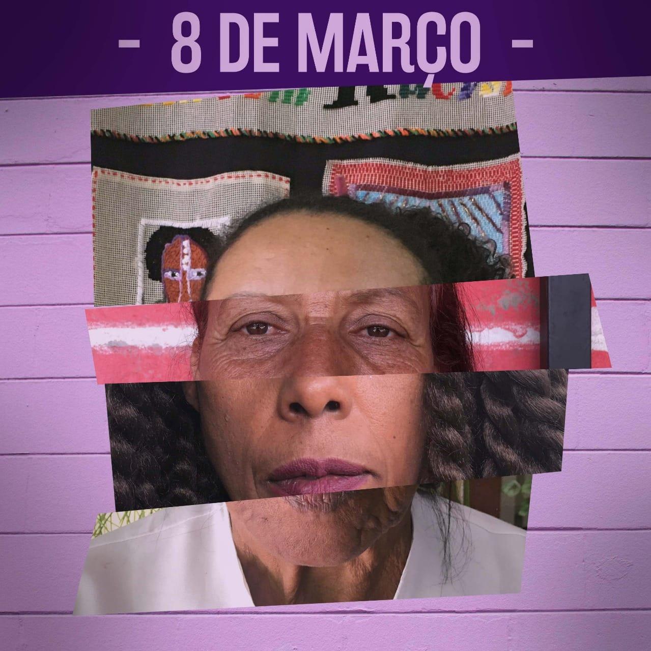 Marcha 8M - As Mulheres da Favela Exigem Paz