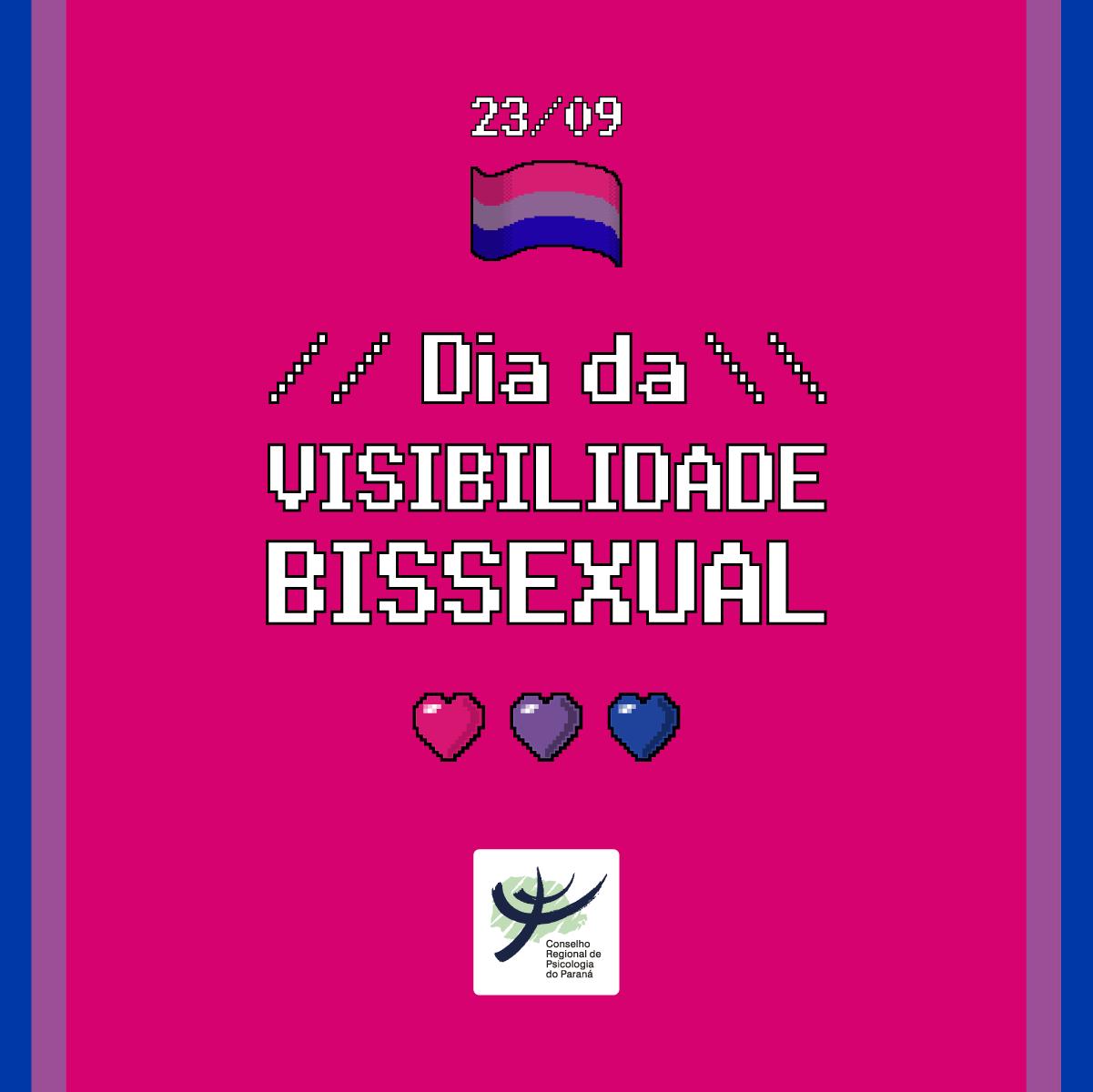 Em vídeo sobre Dia da Visibilidade Bissexual, Diverges traz recomendações a Psicólogas(os)