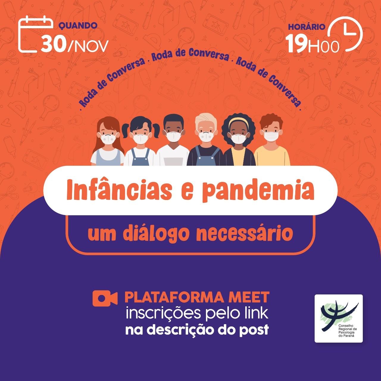Roda de Conversa - Infâncias e pandemia: um diálogo necessário