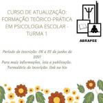 Curso de Atualização: formação teórico-prática em Psicologia Escolar